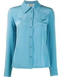 Diane von Furstenberg - ボタン シルクシャツ - Lyst