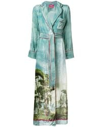 F.R.S For Restless Sleepers - Roda Printed Robe - Lyst