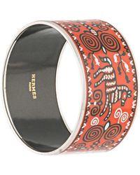 Hermès Bracelet manchette Clousonné - Multicolore