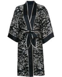 Josie Natori - Pagoda Wrap Night-gown - Lyst