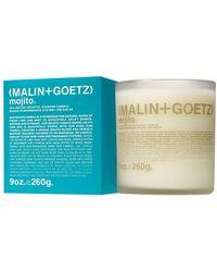 Malin+goetz Mojito Scented Candle (260g) - Blue