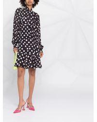 Boutique Moschino ポルカドット ドレス - マルチカラー