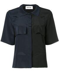 Partow - バイカラーシャツ - Lyst