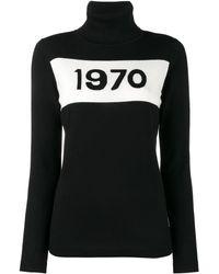Bella Freud Maglione Dolcevita '1970' - Black