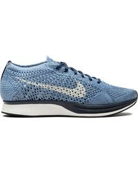 Nike Flyknit Racer Prm Trainers - Blue