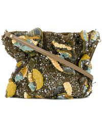 Jamin Puech - Sequin All Over Shoulder Bag - Lyst