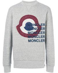 Moncler - Bullseye Print Sweatshirt - Lyst