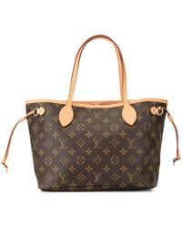 Louis Vuitton Pre-owned Neverfull Pm Tote - Brown