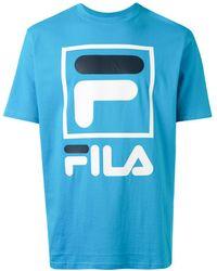 Fila ロゴ Tシャツ - ブルー