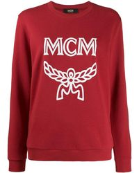 MCM Logo Group スウェットシャツ - レッド