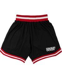 Stadium Goods Elasticated Mesh Shorts - Black