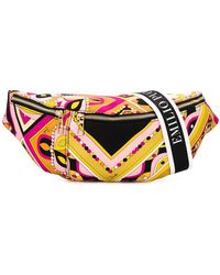 Emilio Pucci - Abstract Print Crossbody - Lyst