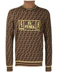 Fendi - Ff ロゴ タートルネックセーター - Lyst