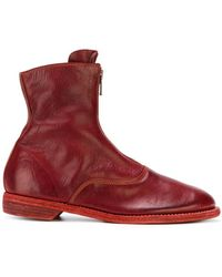 Guidi - Front Zip Boots - Lyst