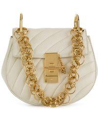 Chloé Drew Bijou mini shoulder bag - Bianco