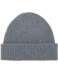 Paul Smith - Rib Knit Hat - Lyst