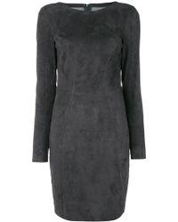 DROMe - Fitted Mini Dress - Lyst
