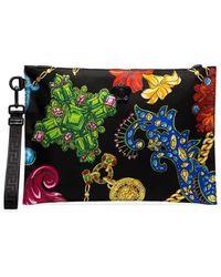 Versace - Multicoloured Jewellery Print Clutch Bag - Lyst