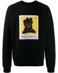 Neil Barrett Sweatshirt mit Foto-Print