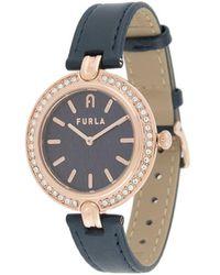 Furla - Milano ラウンド腕時計 - Lyst