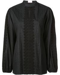 Giamba Tunic Style Top - ブラック