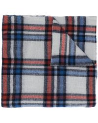 Isabel Marant - Checked Chunky Scarf - Lyst