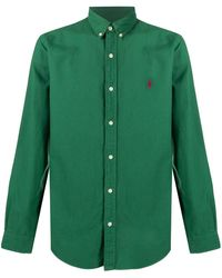 Polo Ralph Lauren - ロゴ ボタン シャツ - Lyst