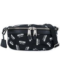 Moschino - Monogram Belt Bag - Lyst