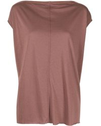 Rick Owens Lilies - Top smanicato - Lyst