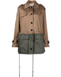 Monse カーゴジャケット - ブラウン