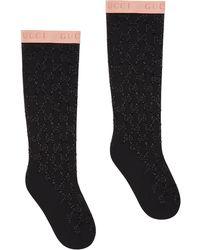 Gucci Socken mit GG - Schwarz
