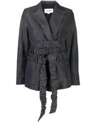 Sunnei ラップ ジャケット - ブラック
