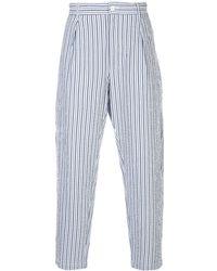Engineered Garments ルーズフィット パンツ - ブルー