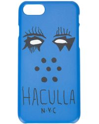 Haculla Nobody's Safe Iphone X Case - Blue