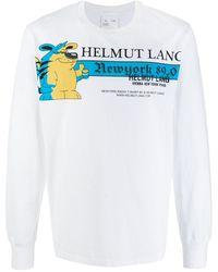 Helmut Lang - プリント スウェットシャツ - Lyst
