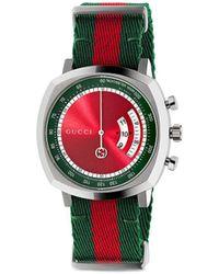 Gucci Grip 40mm 腕時計 - レッド
