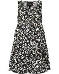 Marc Jacobs Платье Liberty С Цветочным Принтом - Черный