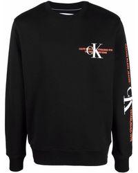 Calvin Klein Джемпер С Логотипом - Черный