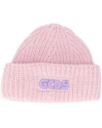 Gcds ロゴ ビーニー - ピンク