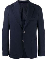 Eleventy Blazer casual - Azul