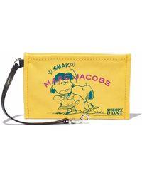 Marc Jacobs X Peanuts Kosmetiktasche - Gelb