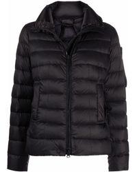 Peuterey ジップアップ パデッドジャケット - ブラック