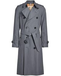 Burberry 'The Long Chelsea Heritage' Trenchcoat - Grau