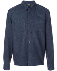 A.P.C. - Surchemise Joe Shirt - Lyst