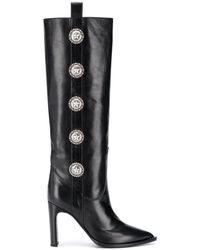KATE CATE Princesa Knee Length Boots - Black