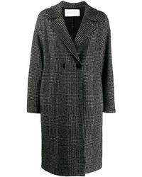 Harris Wharf London シングルコート - ブラック