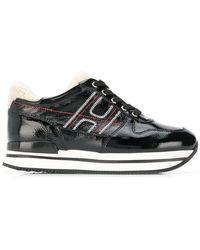 Hogan - Platform Logo Sneakers - Lyst