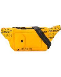 Off-White c/o Virgil Abloh Industrial Belt Bag - Yellow