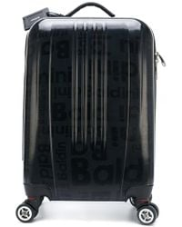 Baldinini Printed Travelling Case - Black