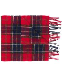 Barbour - Plaid Scarf - Lyst